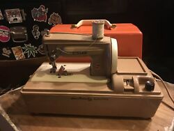 Vintage Sew Handy Electric Singer Portable Sewing Machine