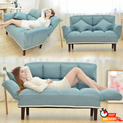 Adjustable Floor Sofa Bed 2pillow 5position Livingroom Furniture Lazy Sofa Couch