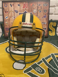Green Bay Packers 1961-1979 Riddell Game Worn Authentic Football Helmet Nfl