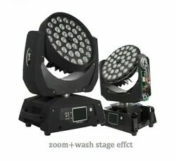 Led Wash Zoom Moving Head Light Rgbwa Uv 6in1 Touch Screen Lyre Dj Disco Party