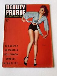 Beauty Parade Magazine March 1943 Vol 2 2 Steffa Cover
