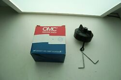 New Omc 176217 Oil Cap With Valve Johnson Evinrude Genuine Factory Boat Parts