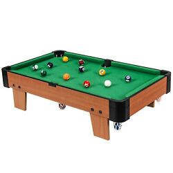 24 Mini Tabletop Pool Table Set Indoor Billiards Table With Accessories