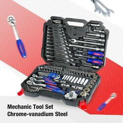 Car Repair Tool Set Screwdrivers Ratchet Spanner Wrenches Sockets Mechanic Tools