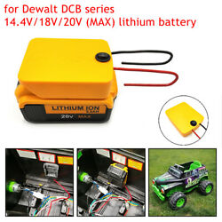 Upgrade Dewalt 20v Li-ion Battery Output Adapter Power Wheels With Switch