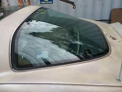 1982 Corvette Only Collector Edition Rear Window W/ Defrost