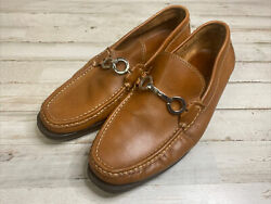 Mens Milan Driving Shoe By Sandro Moscoloni Loafers Brown Leather Size 8.5 D