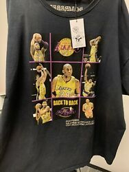 Vintage Domrebel Lakers 2010 Finals Back To Back Champions T-shirt With Gems