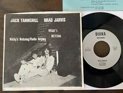 Brad Jarvis Jack Tannehill 45 Private Psych Blazing Electric Guitar Ultra Rare