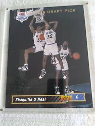 Shaquille Oand039neal Blow-up Rookie Card Upper Deck Authenticated Model 10590. 1b
