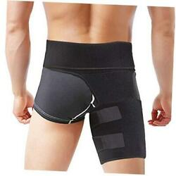 Hip Brace, Groin Support Sciatica Relief Wrap Thigh Hamstring Compression