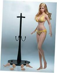 Tbleague 1/6 Scale 12 Inch Female S37a Head Not Included, With Yellow Bikini