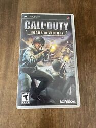 Call Of Duty Roads To Victory - Sony Psp 2006