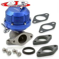 Blue Turbo Manifold Pressure Wastegate Bypass 35mm / 38mm + 8 Psi Boost Spring