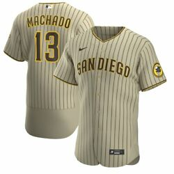 San Diego Padres Manny Machado 13 Nike Official Mlb Authentic Patch Jersey
