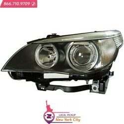 Local Pickup Hid Head Light Lens And Housing Lh Fits Bmw 525i 2004-2006 Bm2502124
