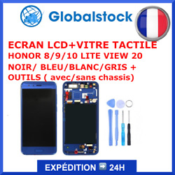 Ecran Lcd+vitre Tactile Honor 5/6/7/8/9/10/20 Lite/view/pro Y6ii/play + Outils