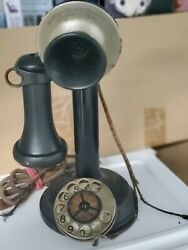 Vintage.. Automatic Electric Co. No.1... Chicago Usa .. Candlestick Telephone