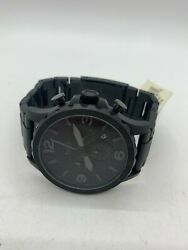 Fossil Jr1401 Mens Black Stainless Steel Japan Movement Strap China Watch