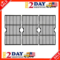 3 Pack 16 1/4 Grill Grates Cast Iron Cooking Grid Replacement For Backyard..new
