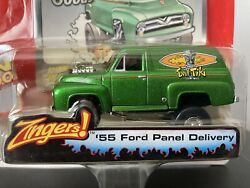 1955 Ford Panel Delivery Truck 164 Scale Diecast By Johnny Lightning Zingers