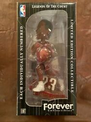 2003 Lebron James Rookie Roy Legends Of The Court Bobblehead In Box /5000