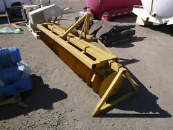 Krause H142 10 Ft 6 In. Disc Plow Farm 3 Point 3088