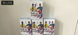 Lot Of 4 Topps Chrome Uefa Champions League 2021 Blaster Boxes. 31 Cards/box.