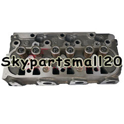 New Complete Cylinder Head Assy With Valves For Kubota F2503 Engine 1pc