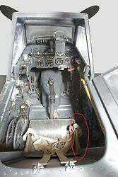 Me109 Ww2 Luftwaffe Original Part From The Seat Of The German Pilot