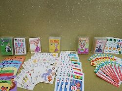 Lot Of 5 Vintage Whitman Card Game, Old Maid, Crazy 8's , Animal Rummy , Snap, +