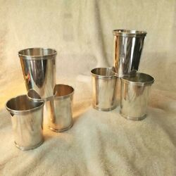 International Sterling Silver Mint Julep Cups P699 N Mono 120 Grams Priced Each
