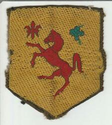 Rare Off Uniform Ww 2 Us Army 113th Cavalry Group Patch Inv S508