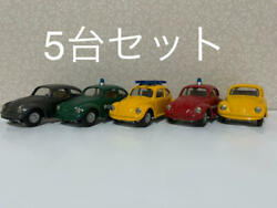 Vw Beetle Manufactured By Czech Kovap Tin Toy Make Set Of 43