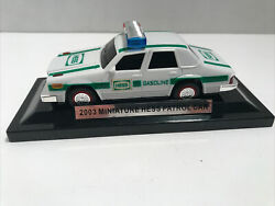 2003 Miniature Hess Patrol Car On Display Stand New Out Of Box No Box Included