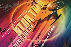 Star Trek Discovery Cast Signed 2018 Fyc Double Lp Record Promo Promotional New
