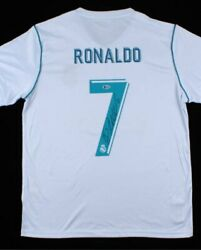Cristiano Ronaldo Autographed Jersey Classic Soccer Football Shirt 7 Certified