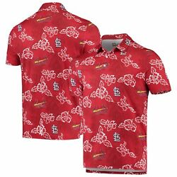 St. Louis Cardinals Reyn Spooner Performance Polo - Red