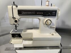 Vintage Kenmore 10 Stitch Sewing Machine Model 158 Zig Zag-tested