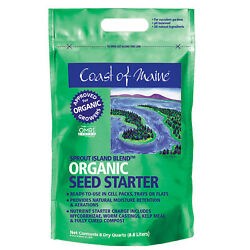 Coast Of Maine Sprout Island Organic Seed Starter For Root Plants, 8 Qt 8 Pack
