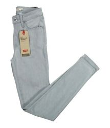 Leviand039s 721 High Rise Skinny Fit Soft Touch Sculpt Fit Denim Jeans Nwt Grey