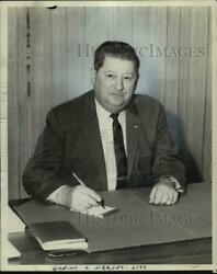 1960 Press Photo Omer F. Kubel American Institute Of Real Estate Appraisers