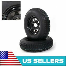 New 2 Pcs Tires Rubber 175/80d13 Load Range C 6 Ply Rated Trail Bias Material Us