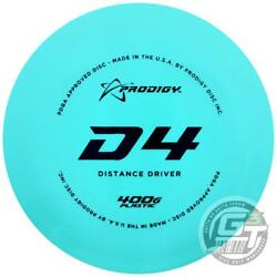 New Prodigy 400g Series D4 Distance Driver Golf Disc - Colors Will Vary