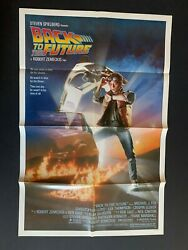 """""""back To The Future"""" Original Poster 27x41"""