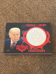 Donald Trump 2020 Decision Gold Coin 1/1 1 Of 1