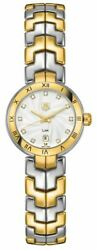 Brand New Tag Heuer Link Gold And Steel 29mm Women's Watch On Sale Wat1450.bb0955