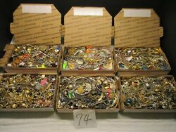 Vintage To Now Estate Find Jewelry Lot, Junk Drawer Unsearched 6 Lots As Is