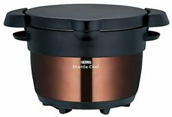 Thermos Vacuum Thermal Insulation Cooker Shatorushefu 1.6l [2 Persons] Clear Bro