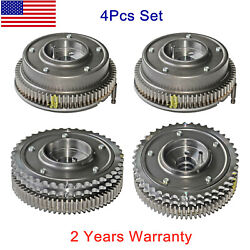 Camshaft Adjusters 4 Pack Intake Exhaust Lh Rh For Mercedes-benz W203 W211 W164